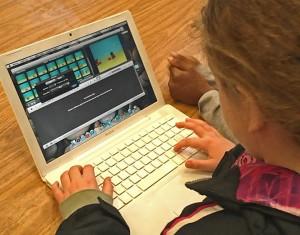 Editing with iMovie