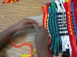 Open-edge weaving