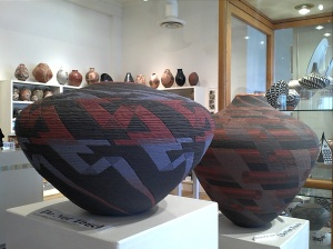 Pueblo pottery at Andrea Fisher Gallery