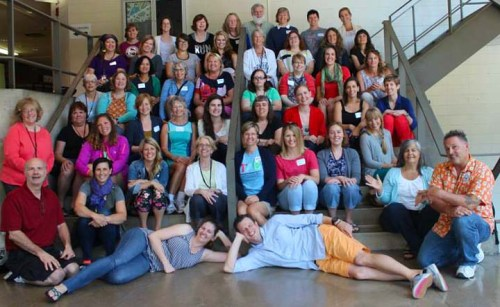 Forty eight teachers spent a week together in Boston learning about learner-directed pedagogy at the Teaching for Artistic Behavior Summer Institute.